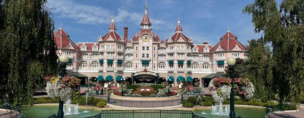Castelo na Disneyland Paris